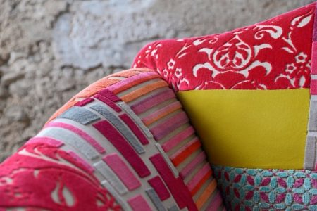 Poltrona vintage tessuto, modello Maddy | Gobbo Salotti
