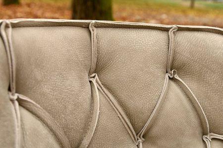 Poltrona vintage pelle, modello Mara | Gobbo Salotti