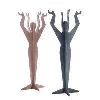 Divano moderno angolare lineare pelle e tessuto, modello Sandy | Gobbo Salotti