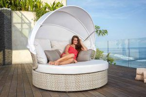 JOURNEY Daybed wcanopy