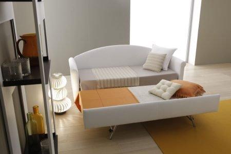 Divano moderno divano letto tessuto, modello Step | Gobbo Salotti