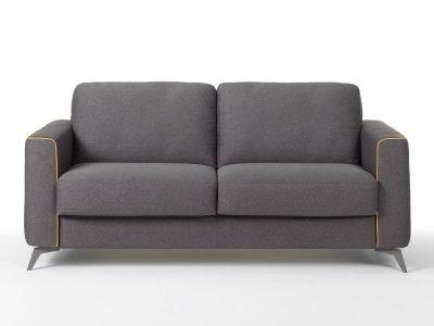 Divano moderno angolare lineare divano letto tessuto, modello Ecuador   Gobbo Salotti
