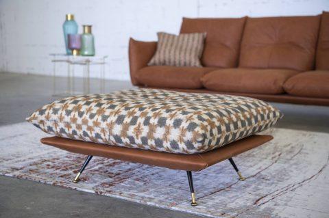 Divano angolare con poggiatesta reclinabile - Anita - Gobbo Salotti